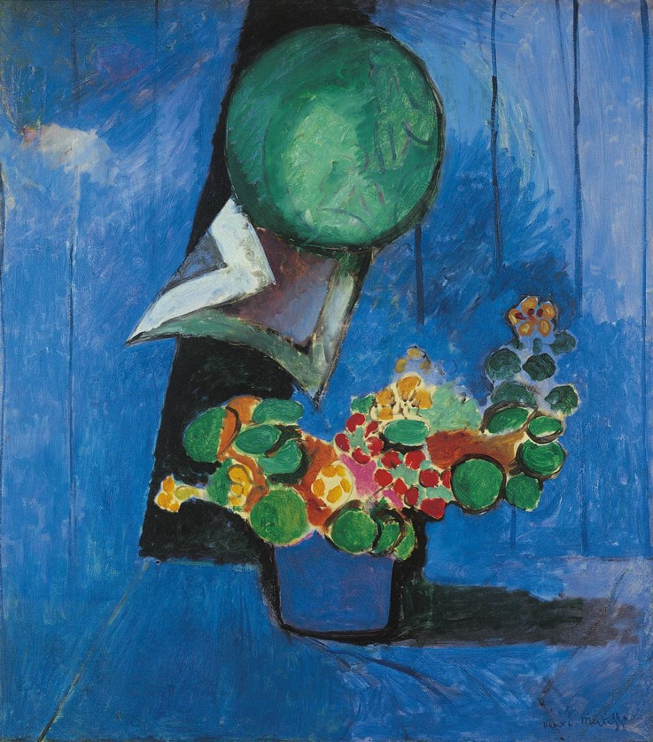 Henri Matisse - Flowers and Ceramic Plate 1913