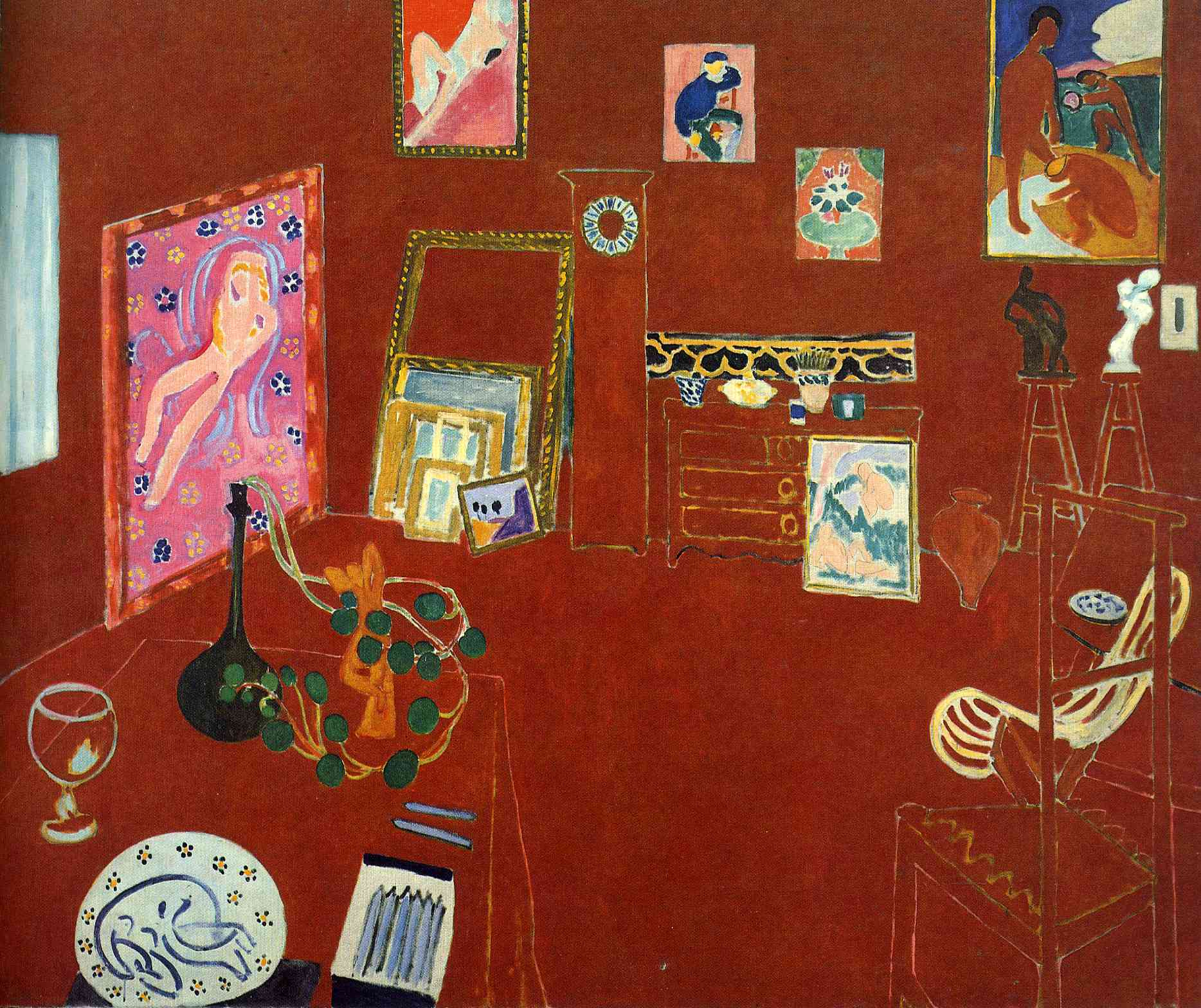 Henri Matisse - Red Studio 1911