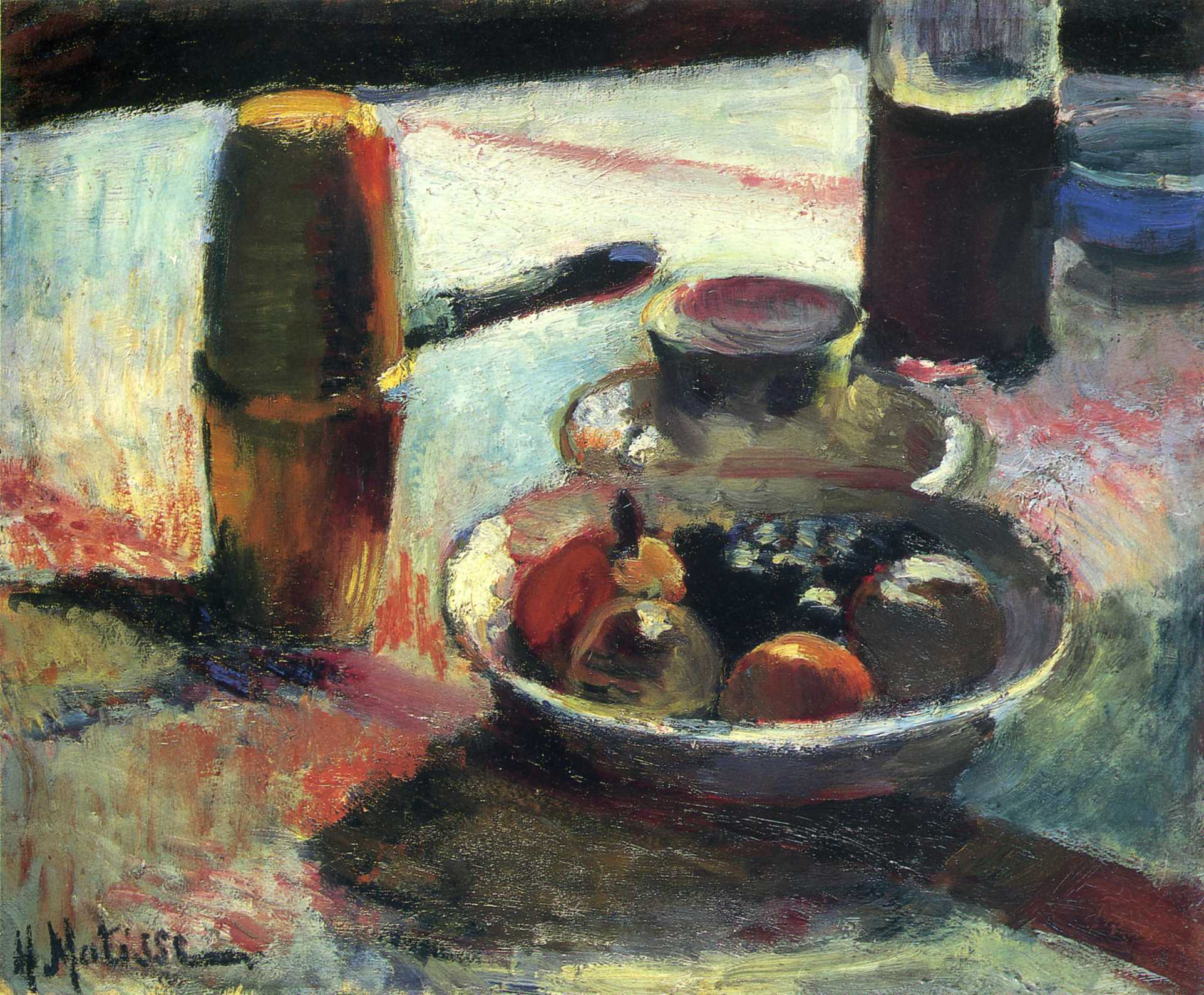 Henri Matisse - Fruit and Coffee-Pot 1898
