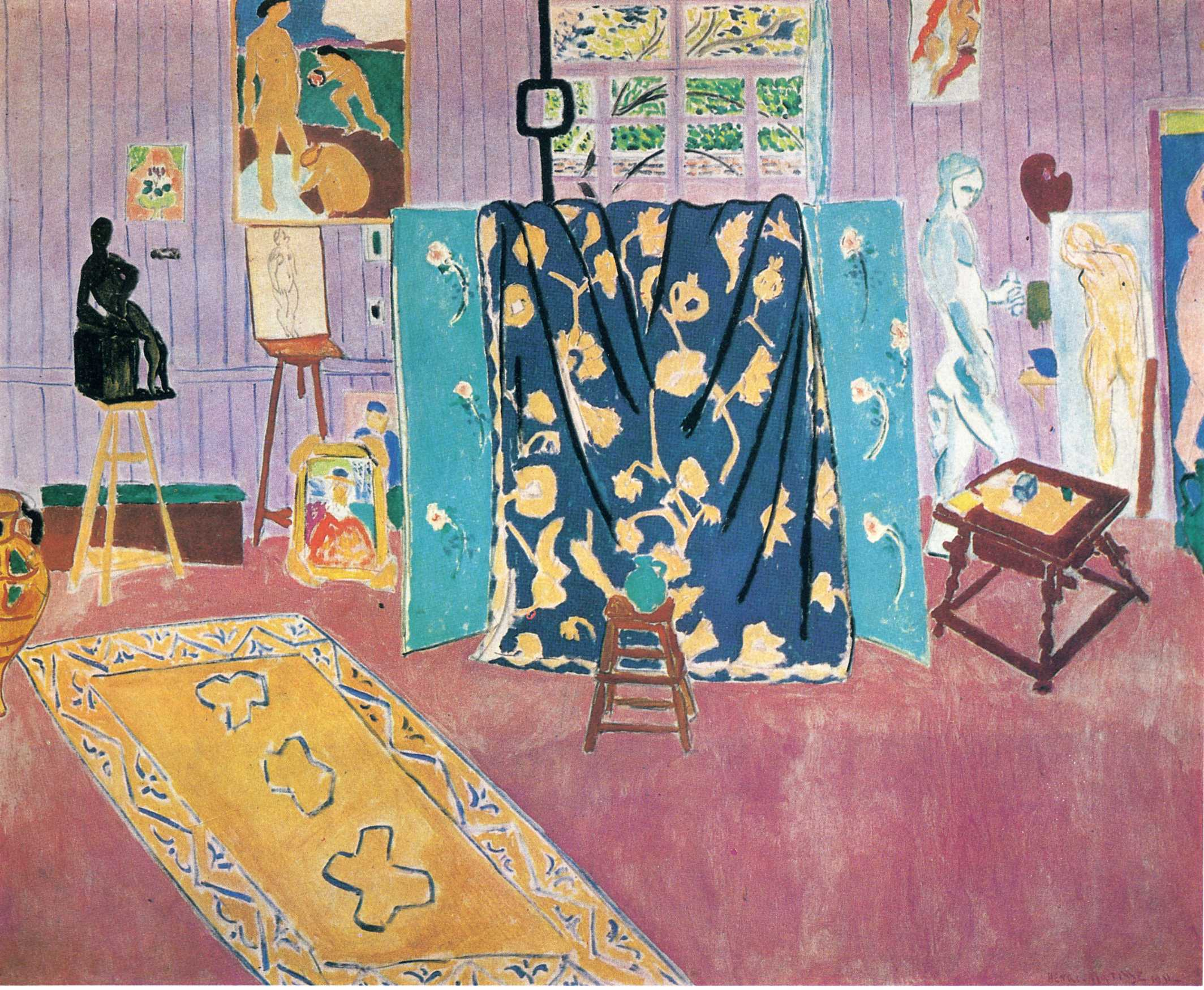 Henri Matisse - The Pink Studio 1911