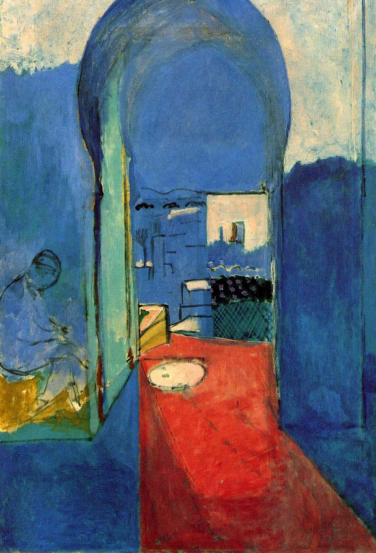 Henri Matisse - Entrance to the Kasbah 1912