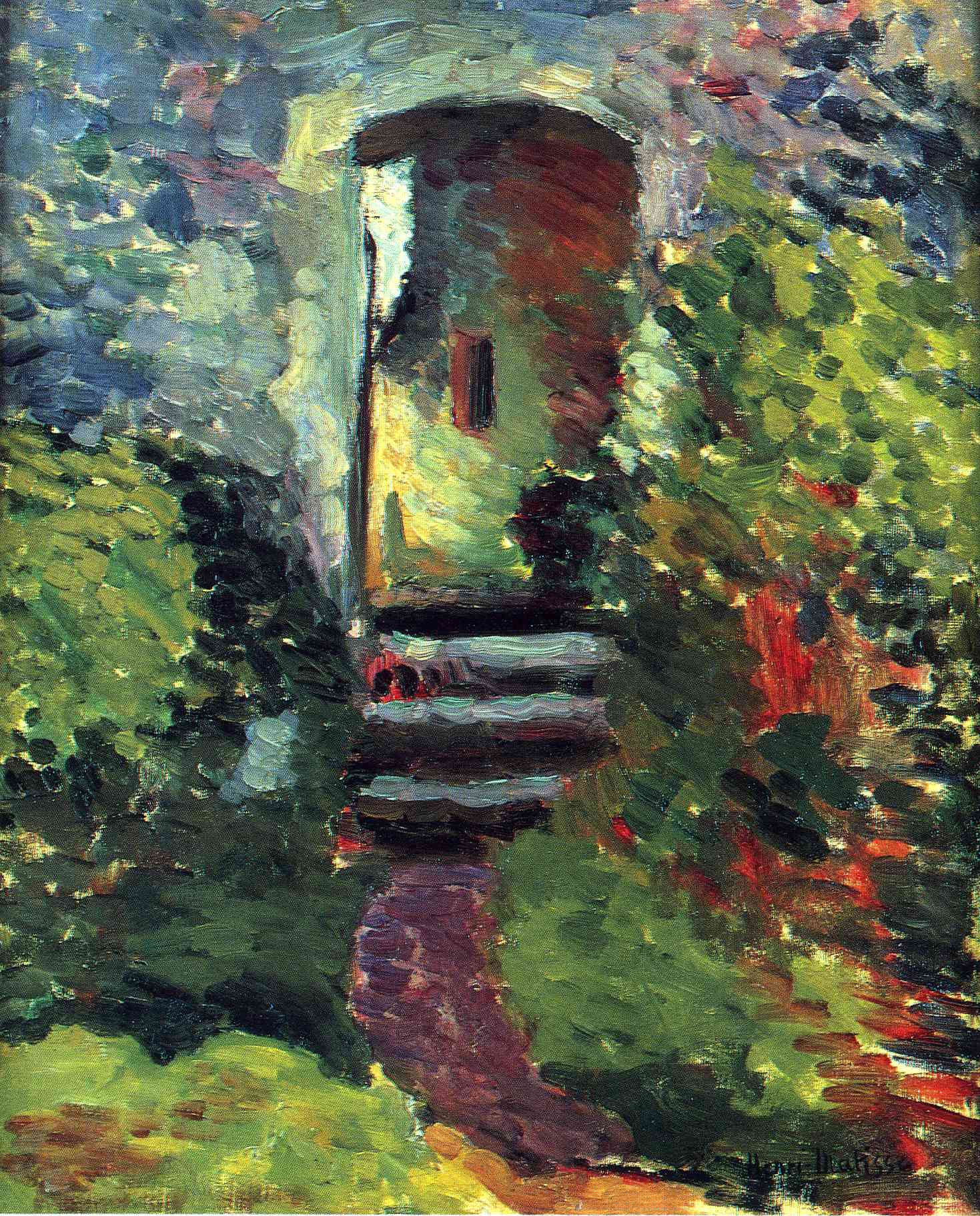 Henri Matisse - The Little Gate of the Old Mill 1898