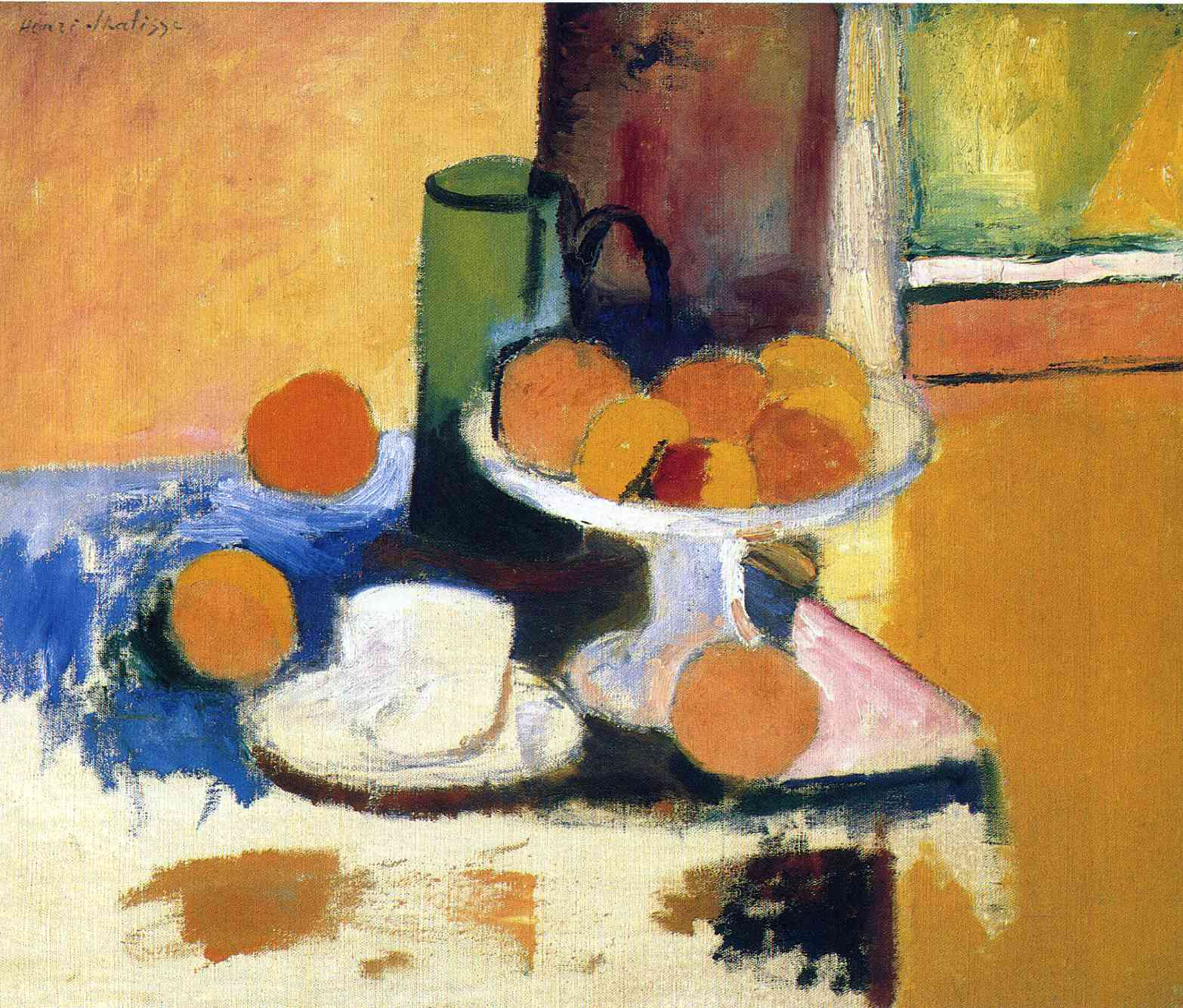 Henri Matisse - Still Life with Oranges 1899
