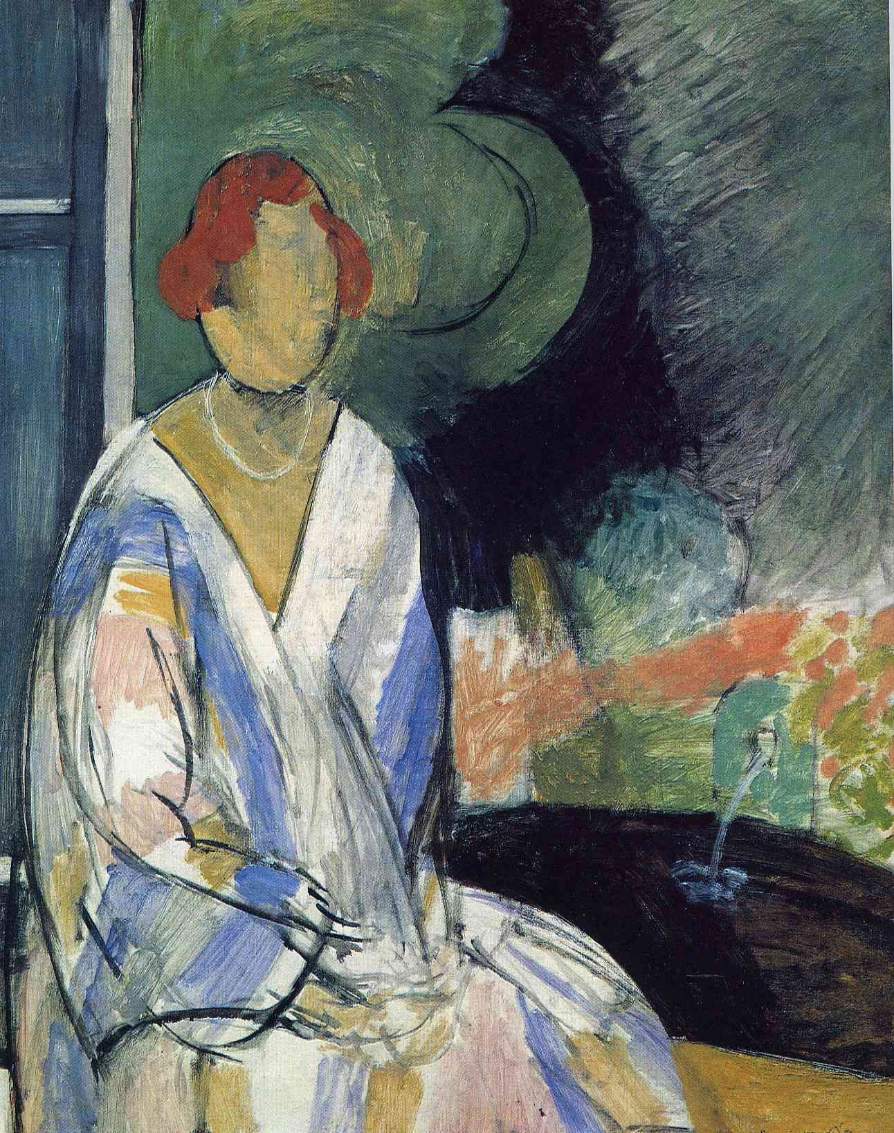 Henri Matisse - Woman at the Fountain 1917