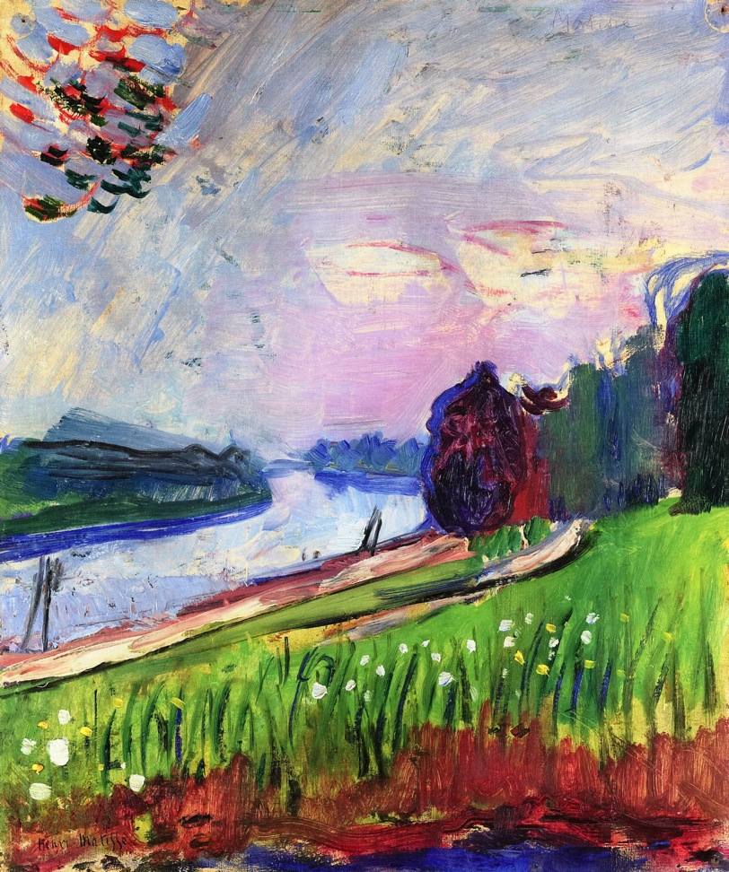 Henri Matisse - Copse of the Banks of the Garonne 1900