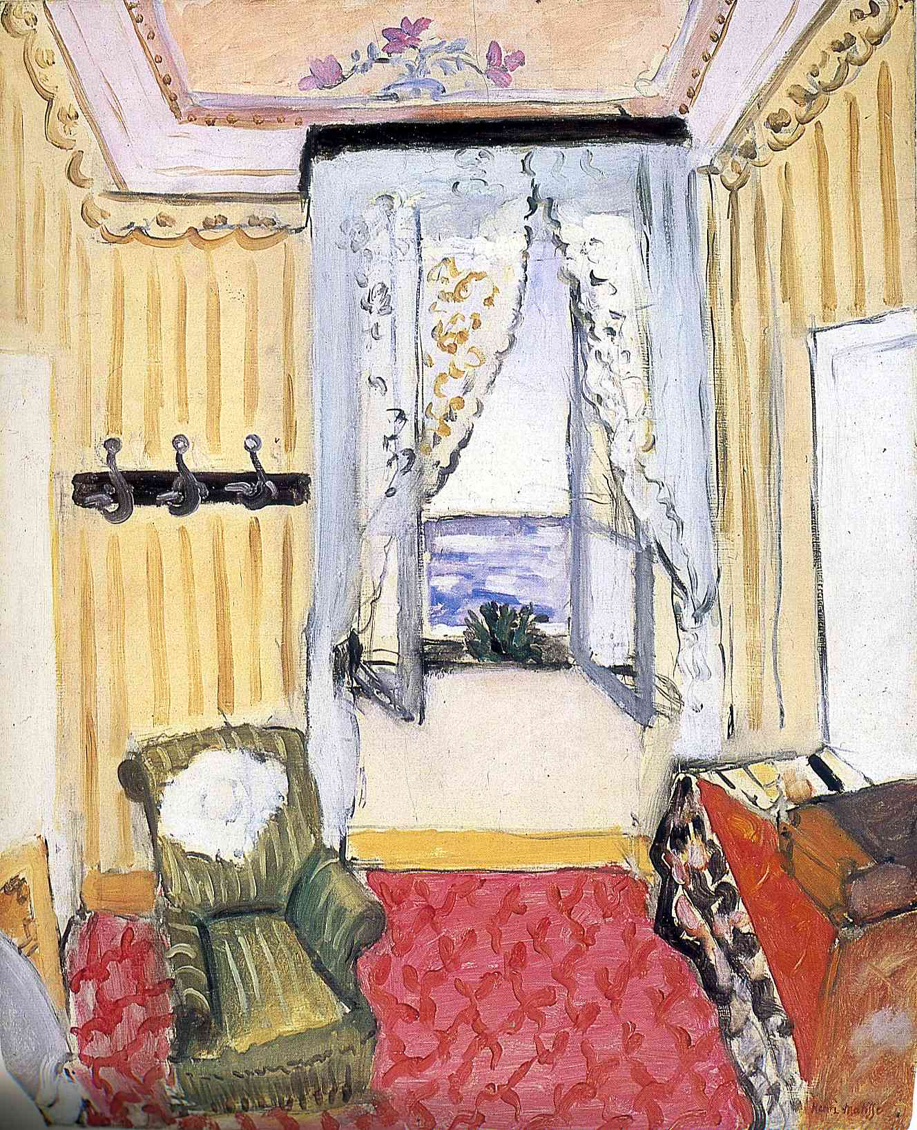 Henri Matisse - My Room at the Beau-Rivage 1918