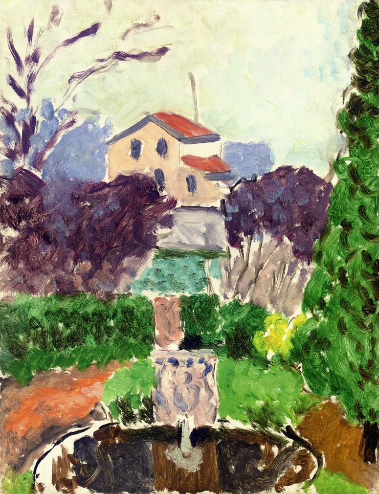 Henri Matisse - The Artist's Garden at Issy les Moulineaux 1918