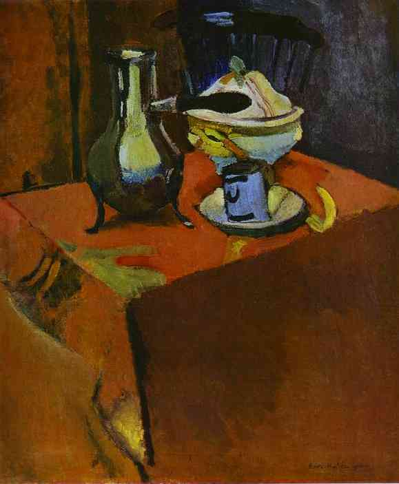 Henri Matisse - Dishes on a Table 1900