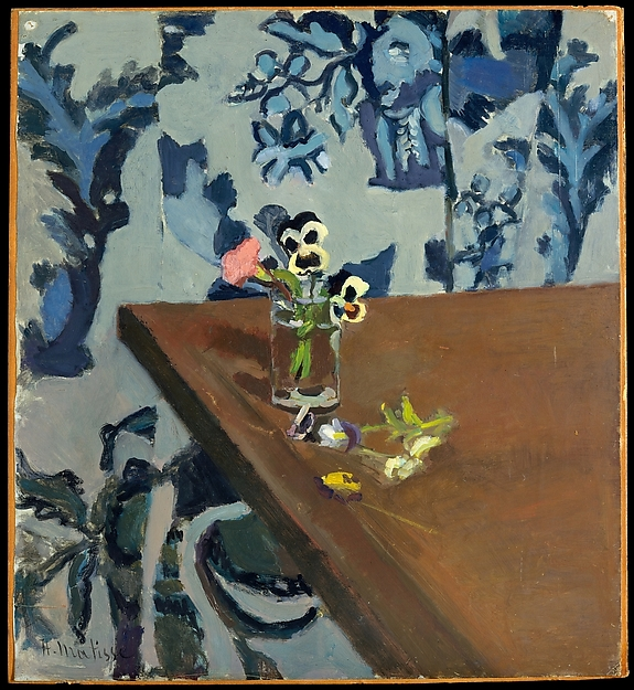 Henri Matisse - Pansies on a Table 1919