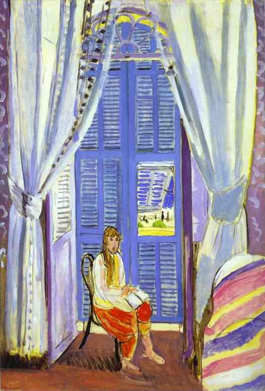 Henri Matisse - The French Window at Nice 1919