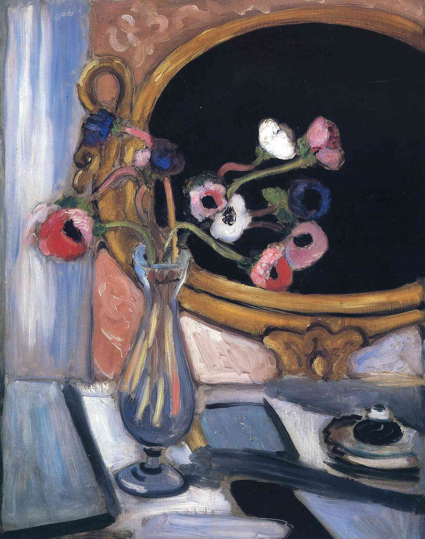 Henri Matisse - Anemone and Mirror 1920