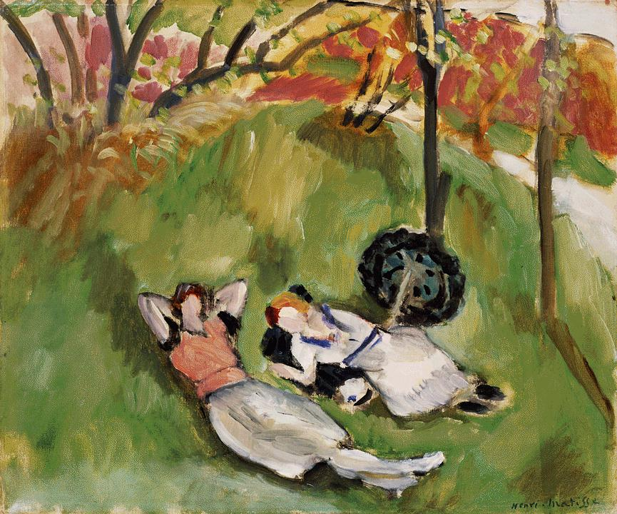 Henri Matisse - Two Figures Reclining in a Landscape 1921