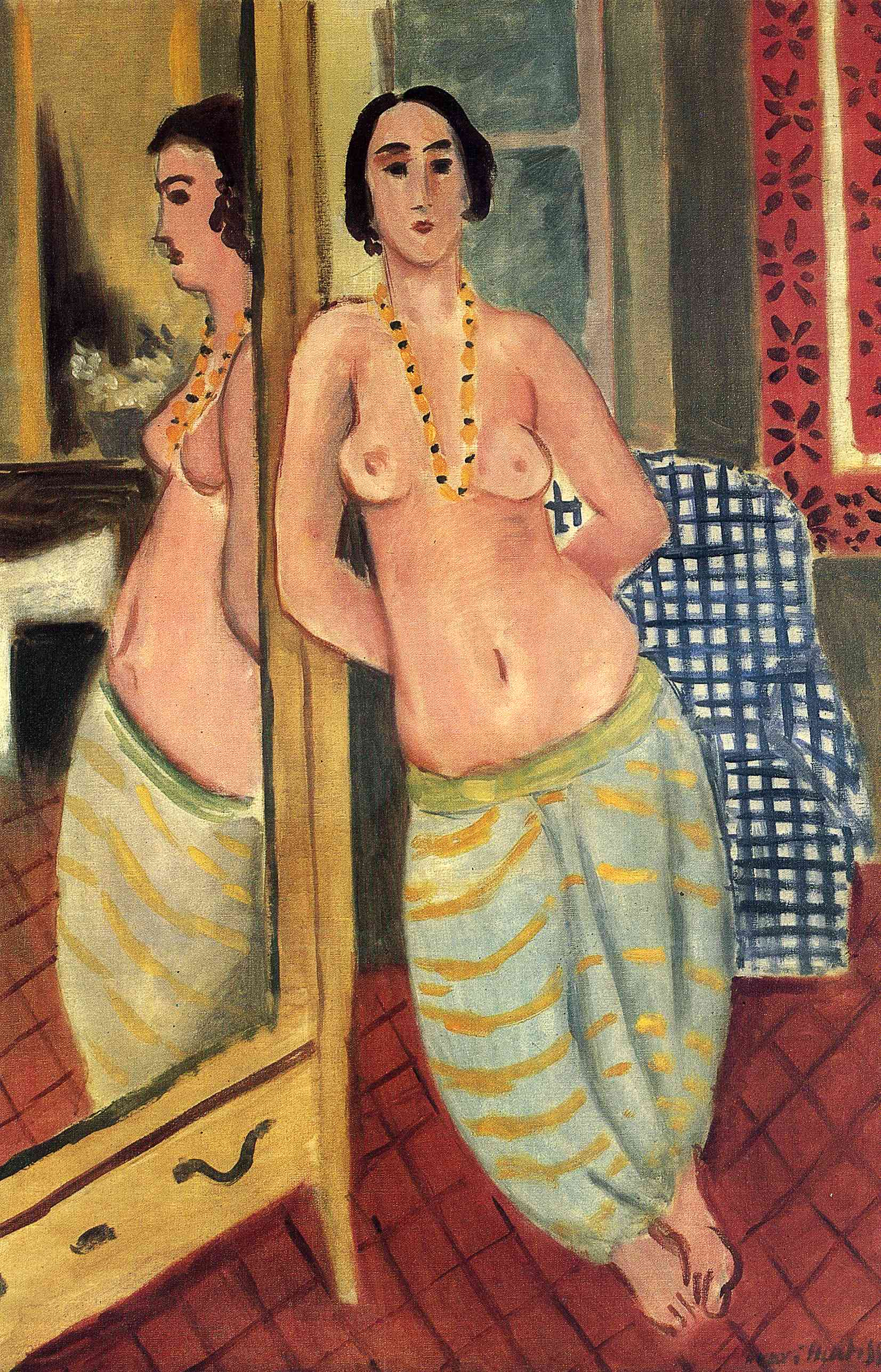Henri Matisse - Standing Odalisque Reflected in a Mirror 1923