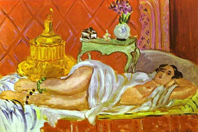 Henri Matisse - Odalisque, Harmony in Red 1926