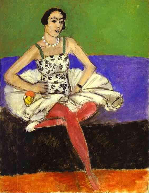Henri Matisse - The Ballet Dancer 1927