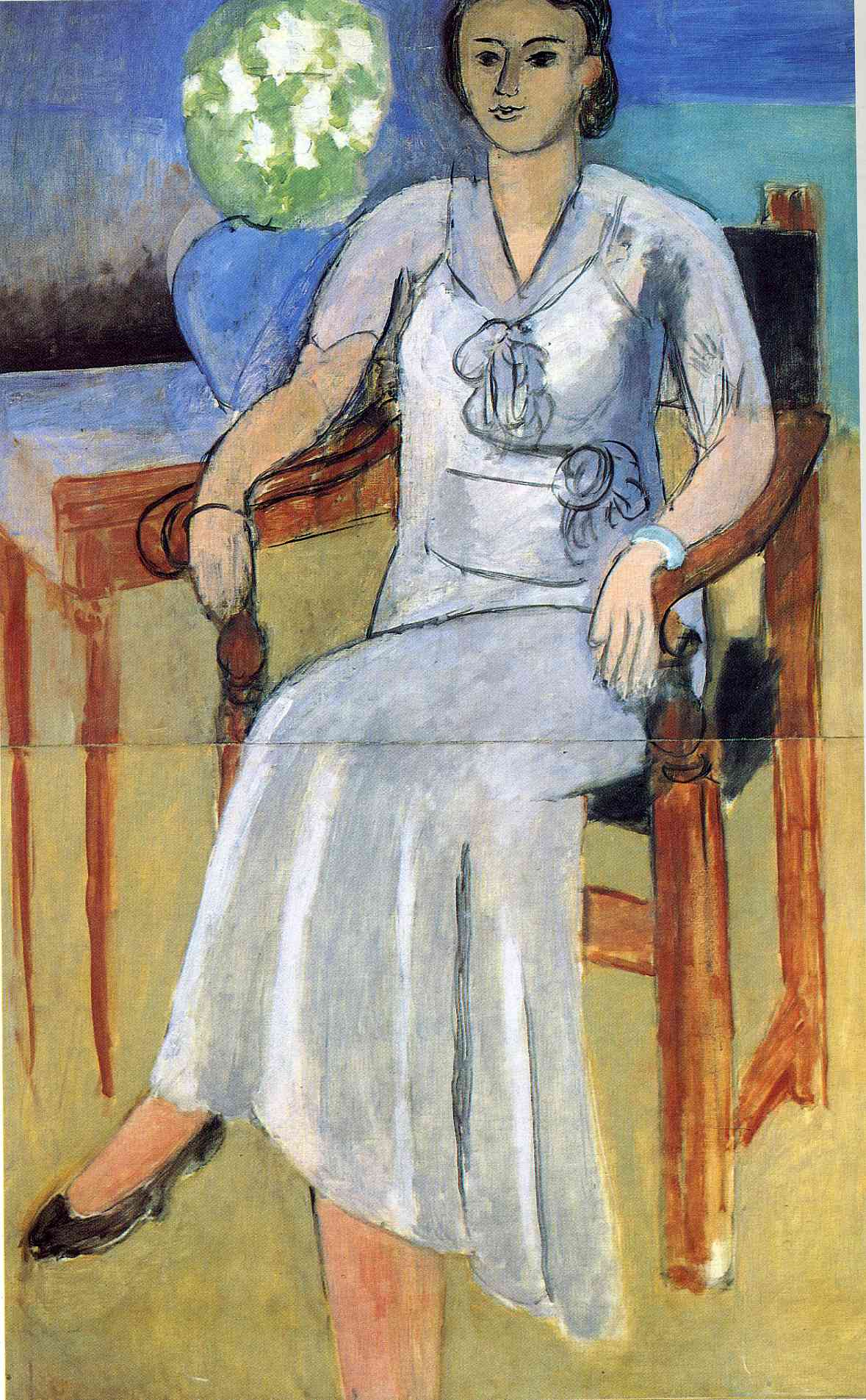 Henri Matisse - Woman with a White Dress 1934