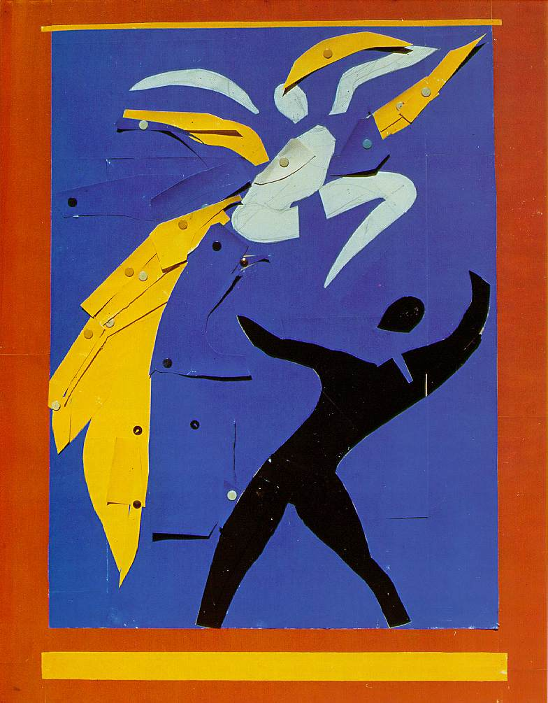 Henri Matisse - Two Dancers. Study for Rouge et Noir 1938