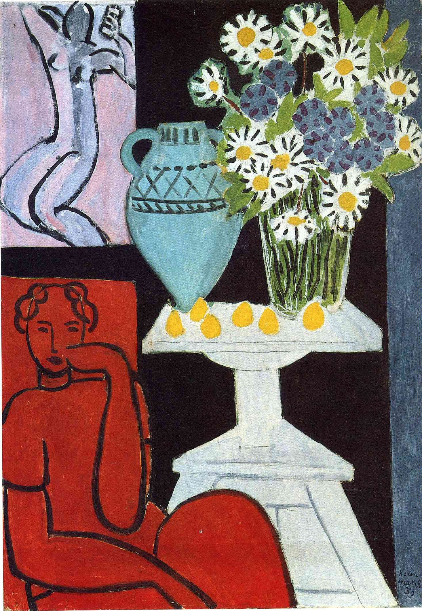 Henri Matisse - The Daisies 1939