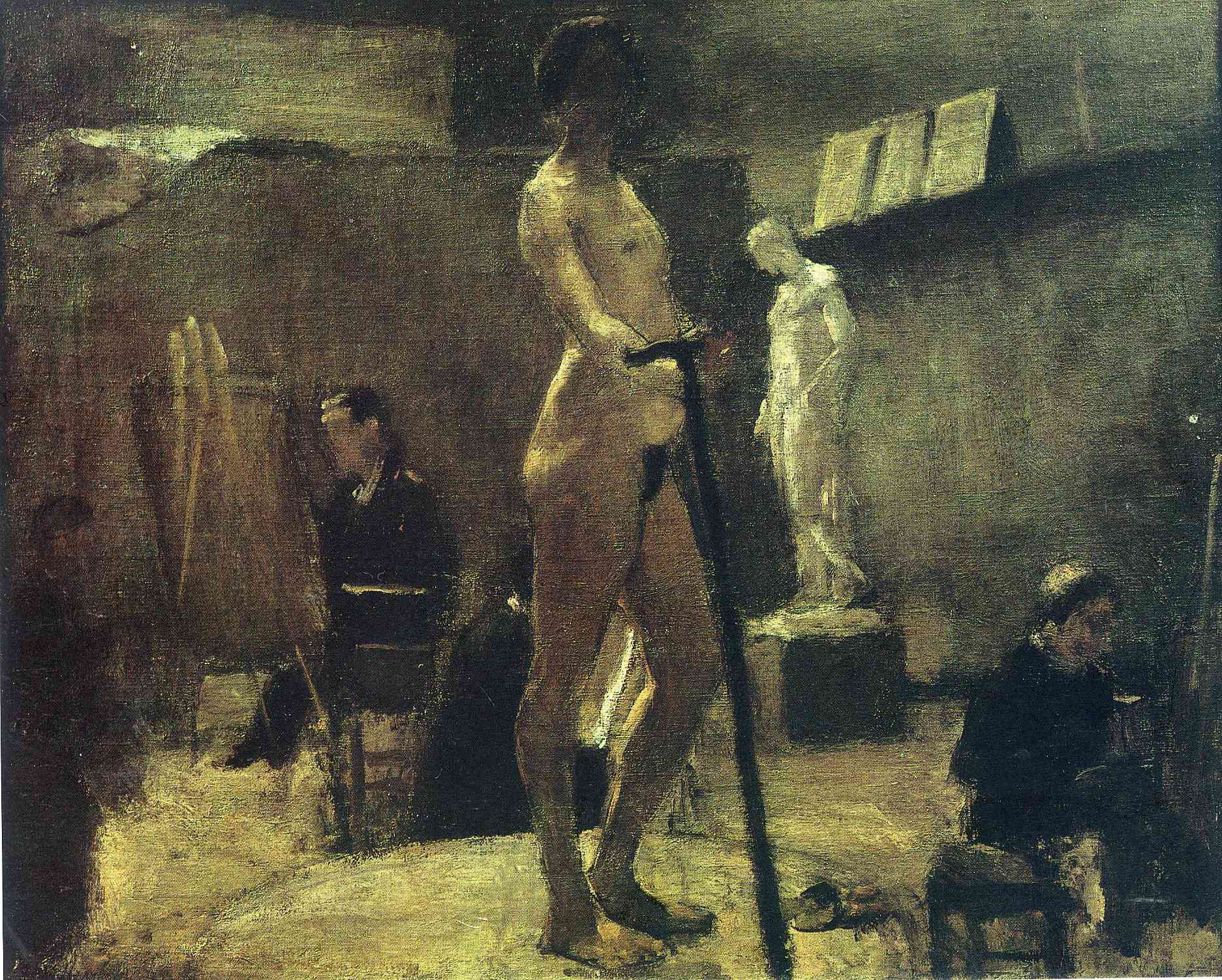 Henri Matisse - The Study of Gustave Moreau 1895