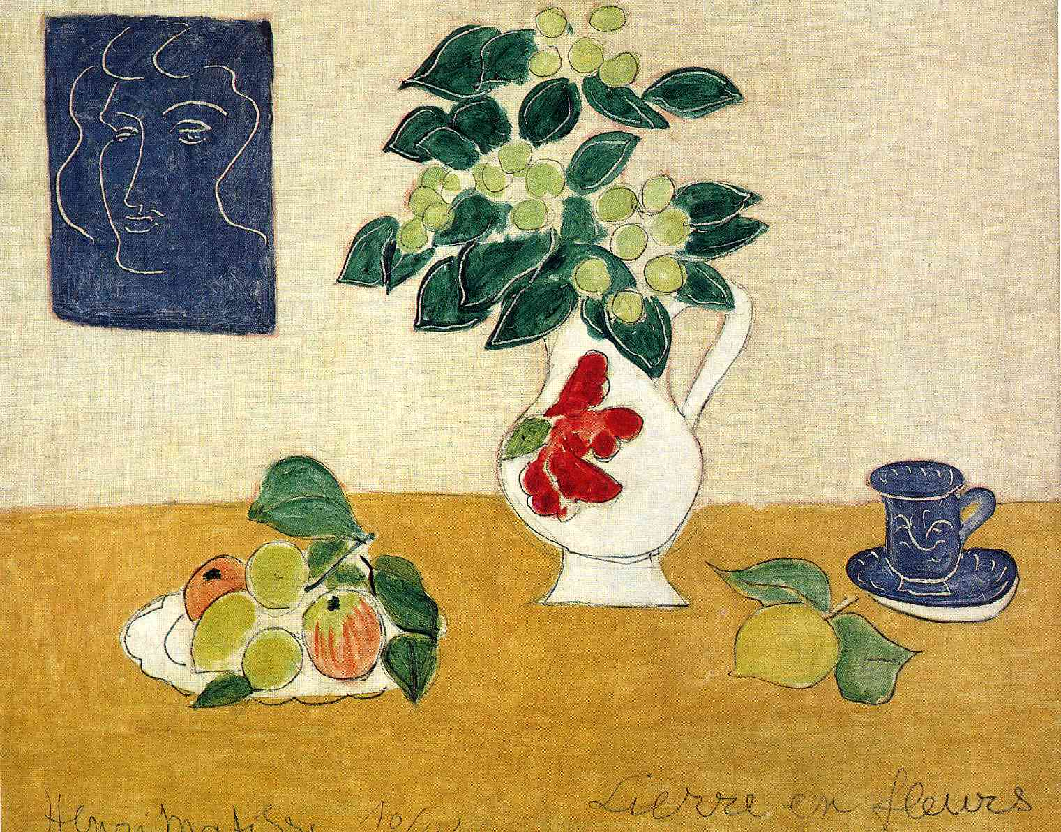 Henri Matisse - Ivy in Flower 1941