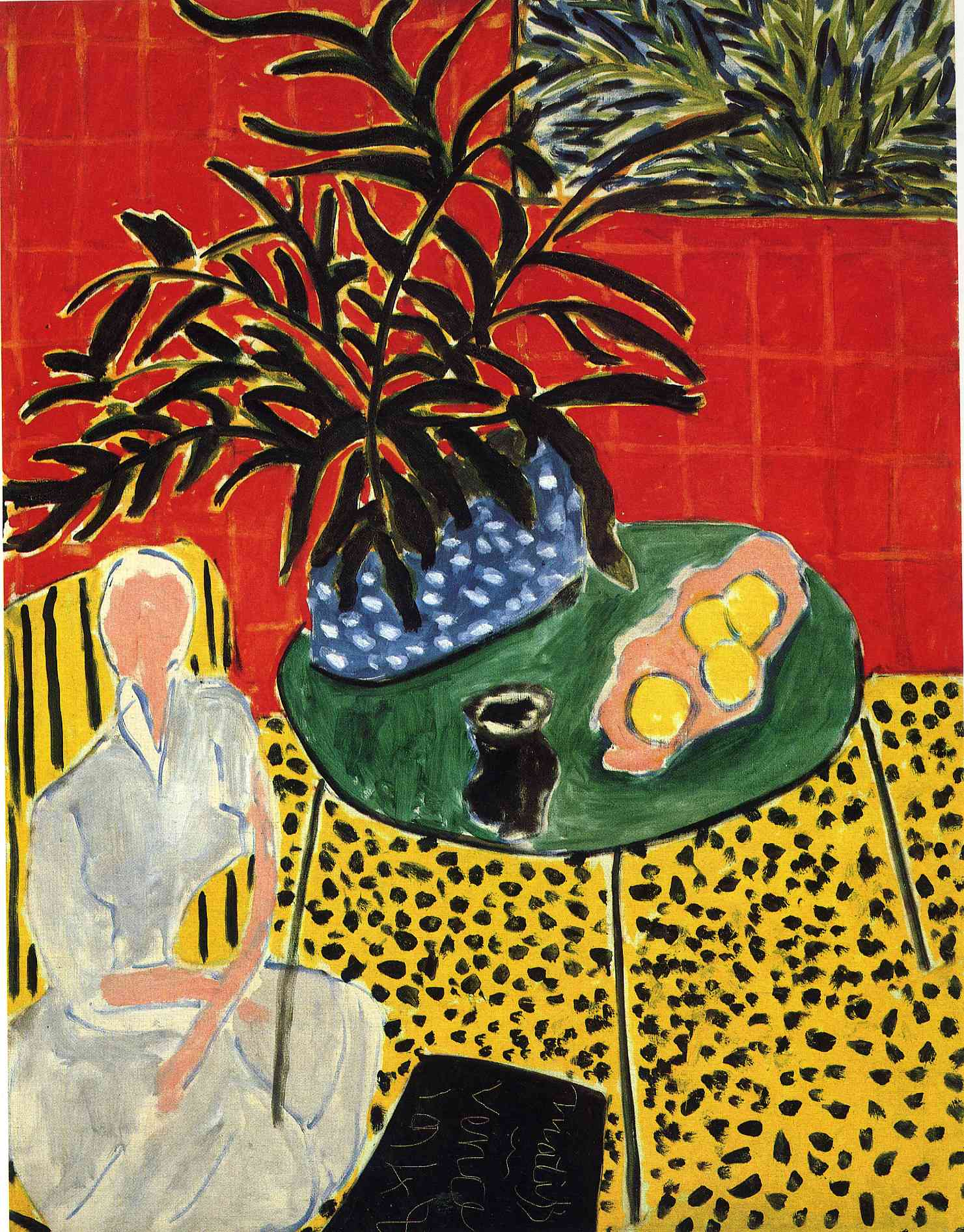 Henri Matisse - Interior with Black Fern 1948