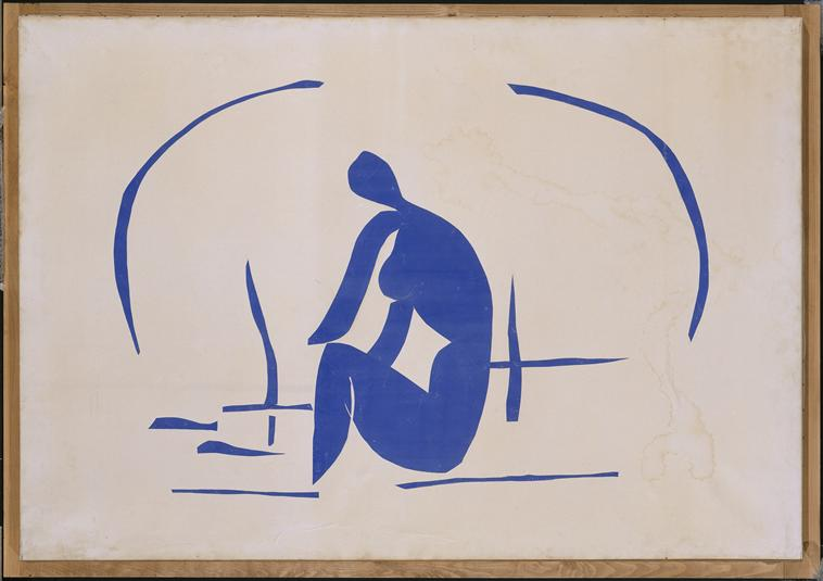 Henri Matisse - Bather in the Reeds 1952