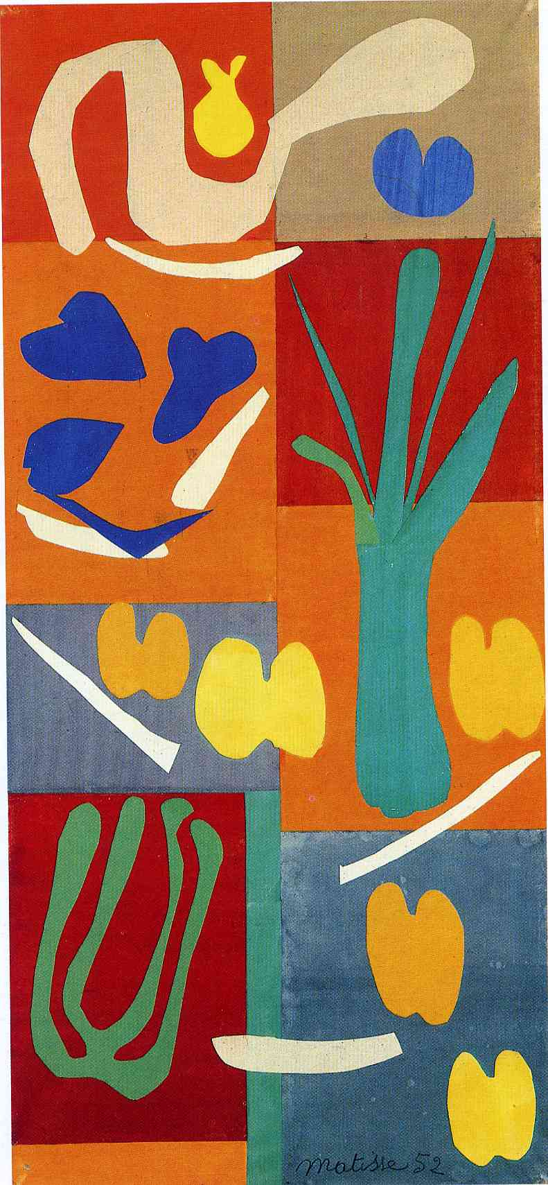 Henri Matisse - Vegetables 1952
