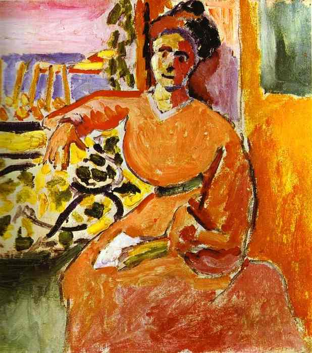 Henri Matisse - A Woman Sitting before the Window
