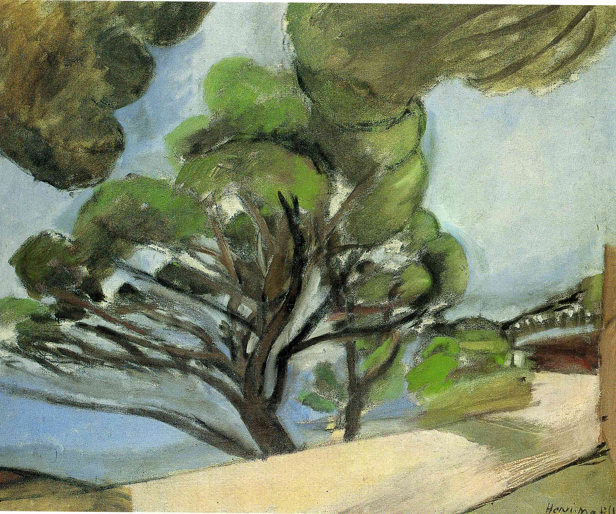 Henri Matisse - Landscape with road 1917