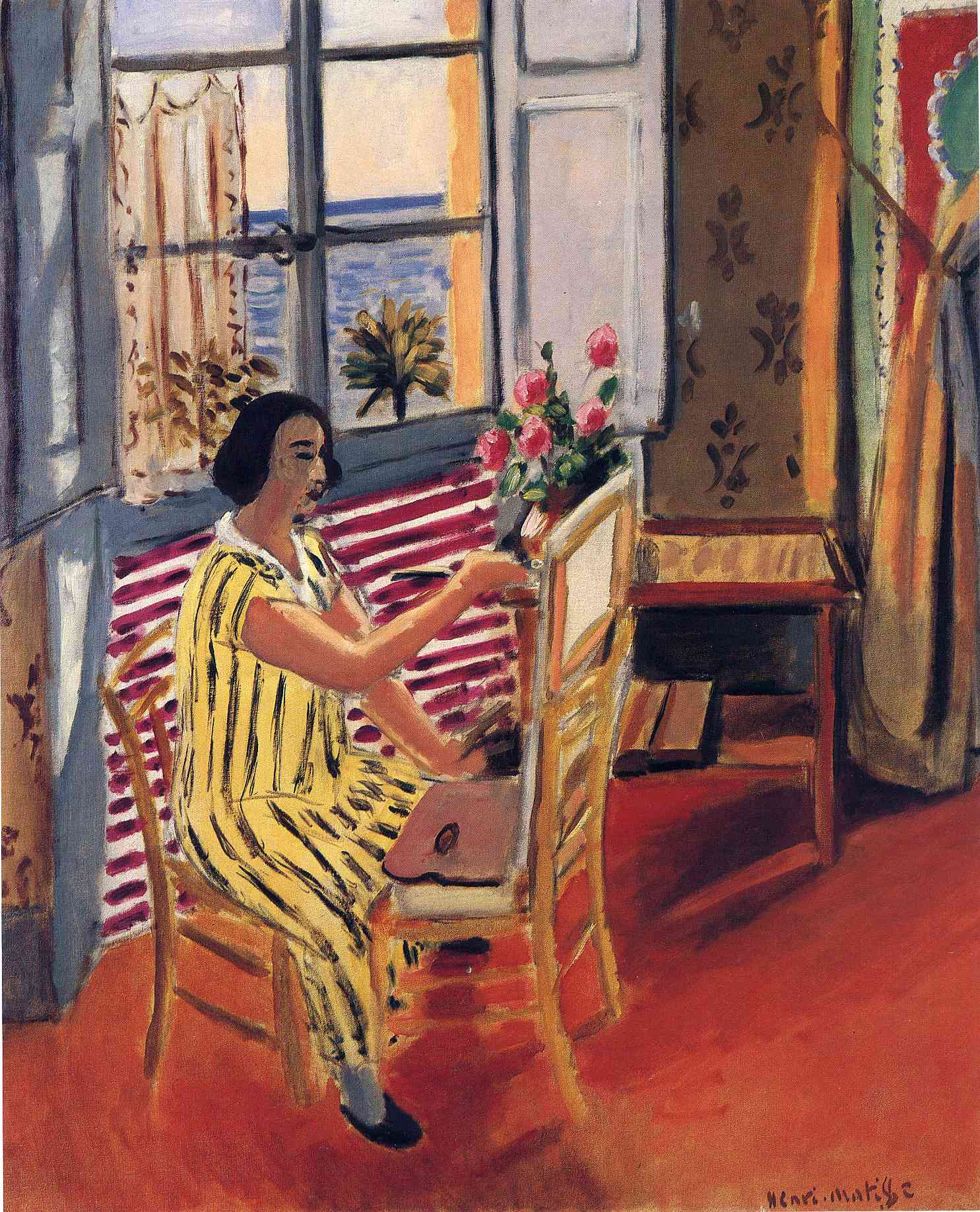Henri Matisse - The Morning Session 1924