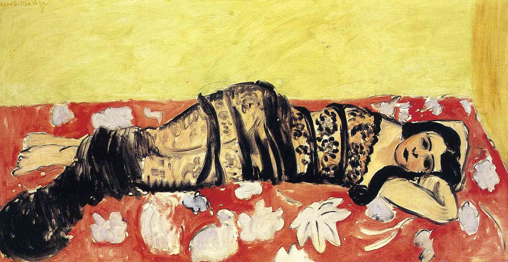 Henri Matisse - Lorette Reclining Wrapped in a Shawl 1916