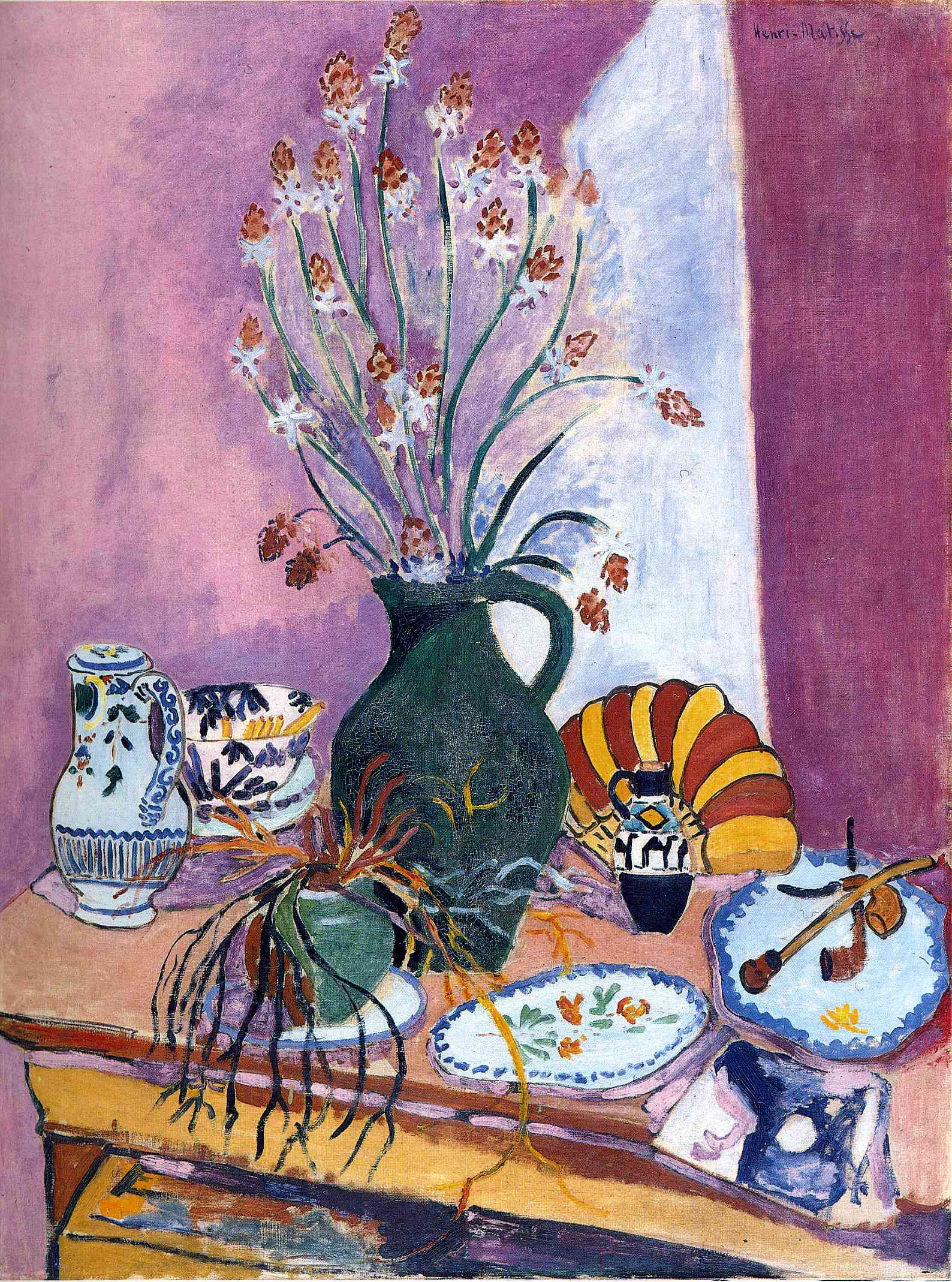 Henri Matisse - Still Life with Flowers 1907