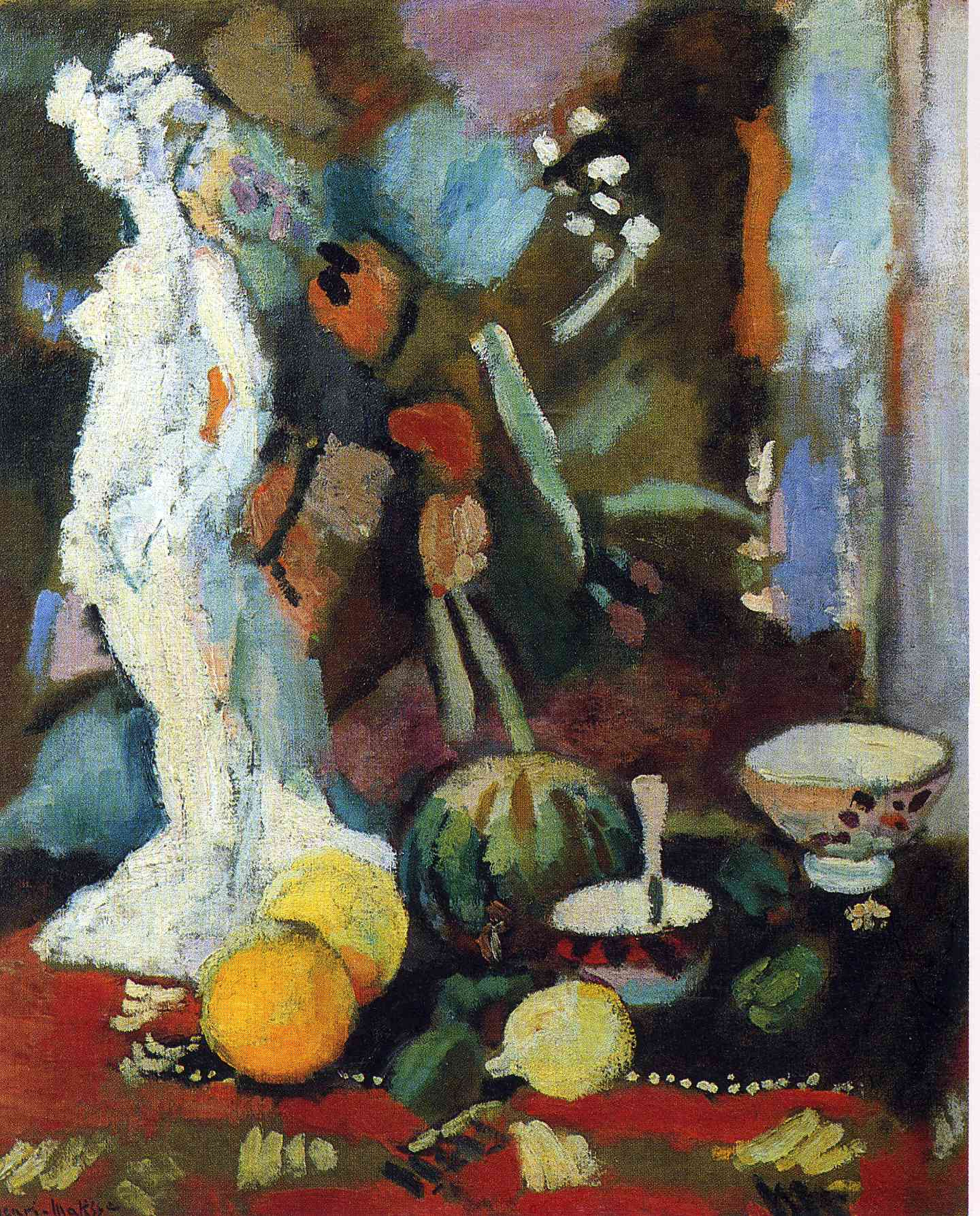Henri Matisse - Still Life with Statuette 1906