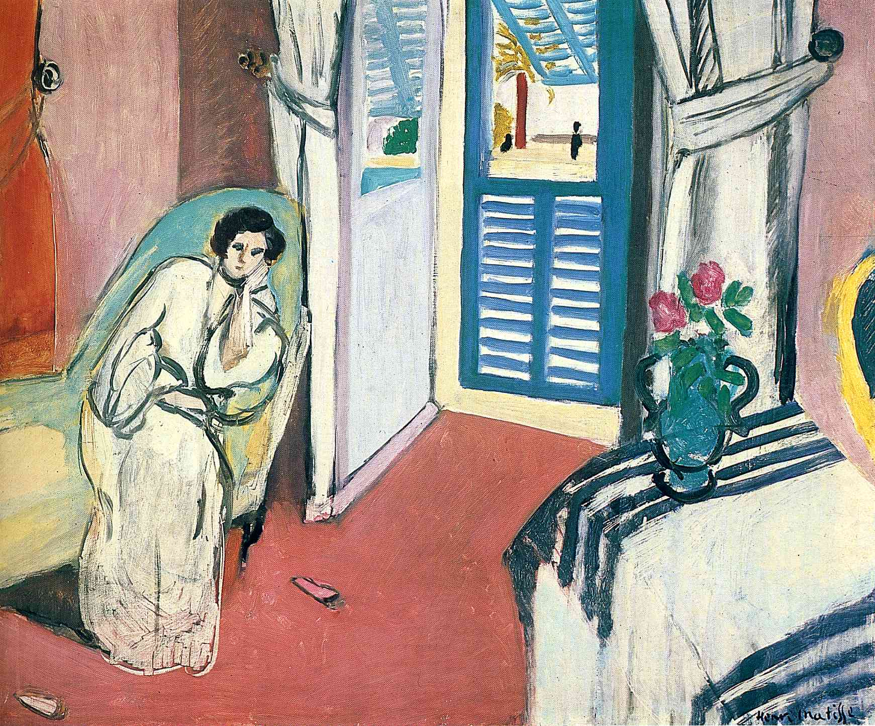 Henri Matisse - Woman on a Sofa 1919
