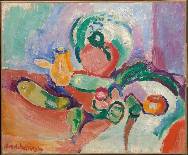Henri Matisse - Still Life with Vegetables 1905