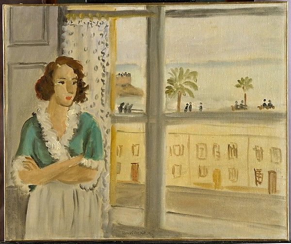 Henri Matisse - Girl by a Window 1921
