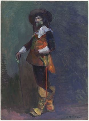 Henri Matisse - The Musketeer 1903