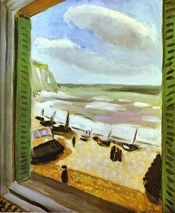 Henri Matisse - Open Window at Collioure 1905