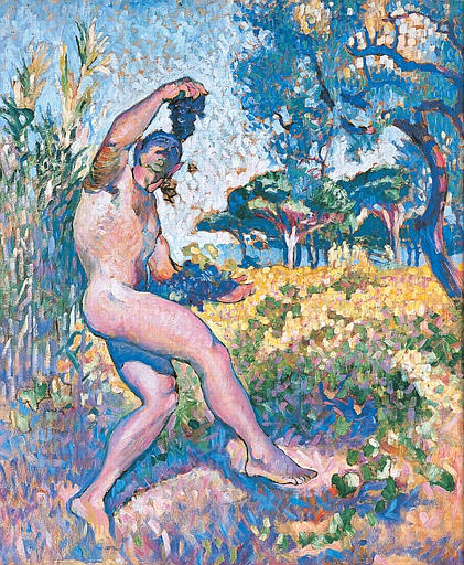 Henri Matisse - Study for Wildlife. The man with the cluster 1905