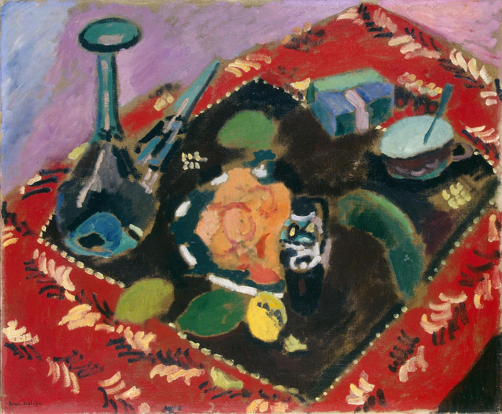Henri Matisse - Dishes and Fruit 1906