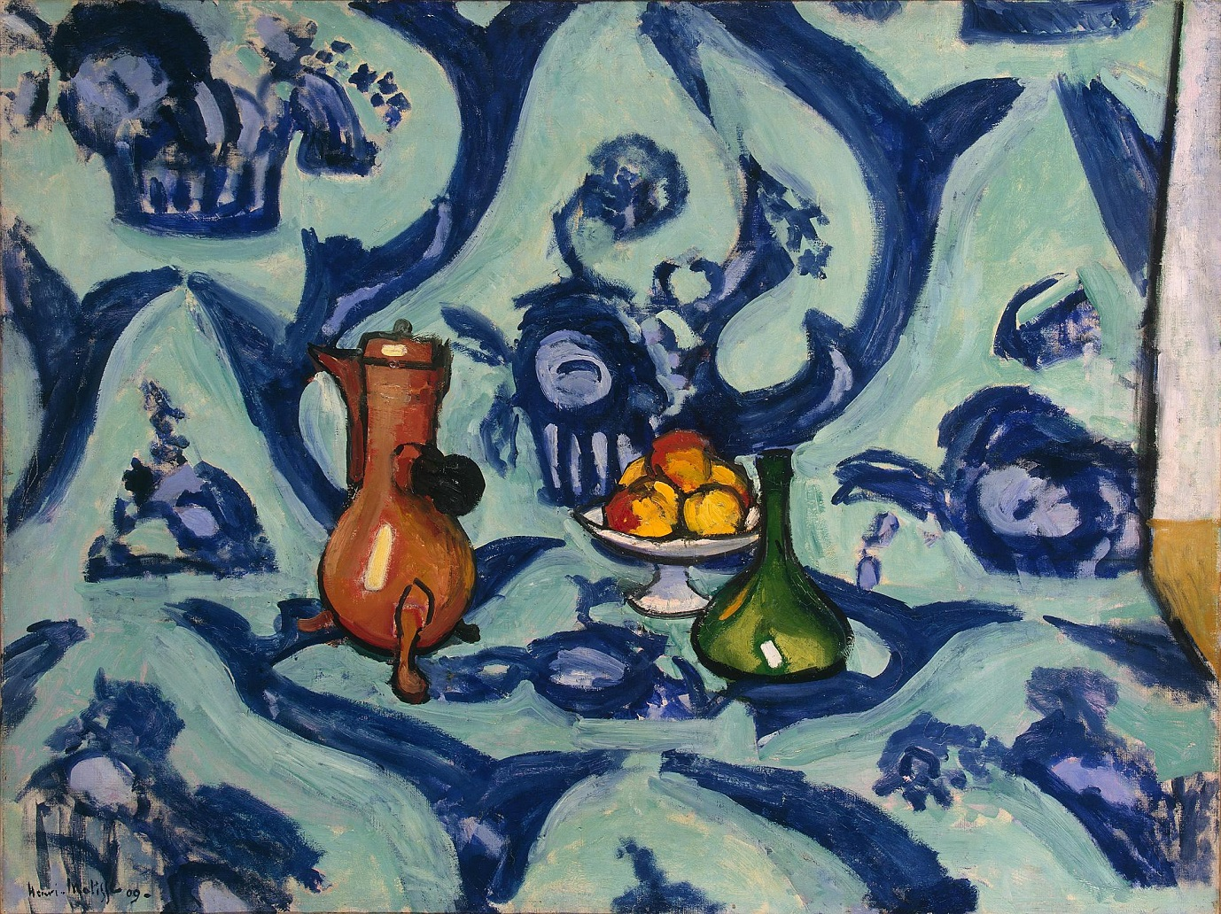 Henri Matisse - Still Life with Blue Tablecloth 1906