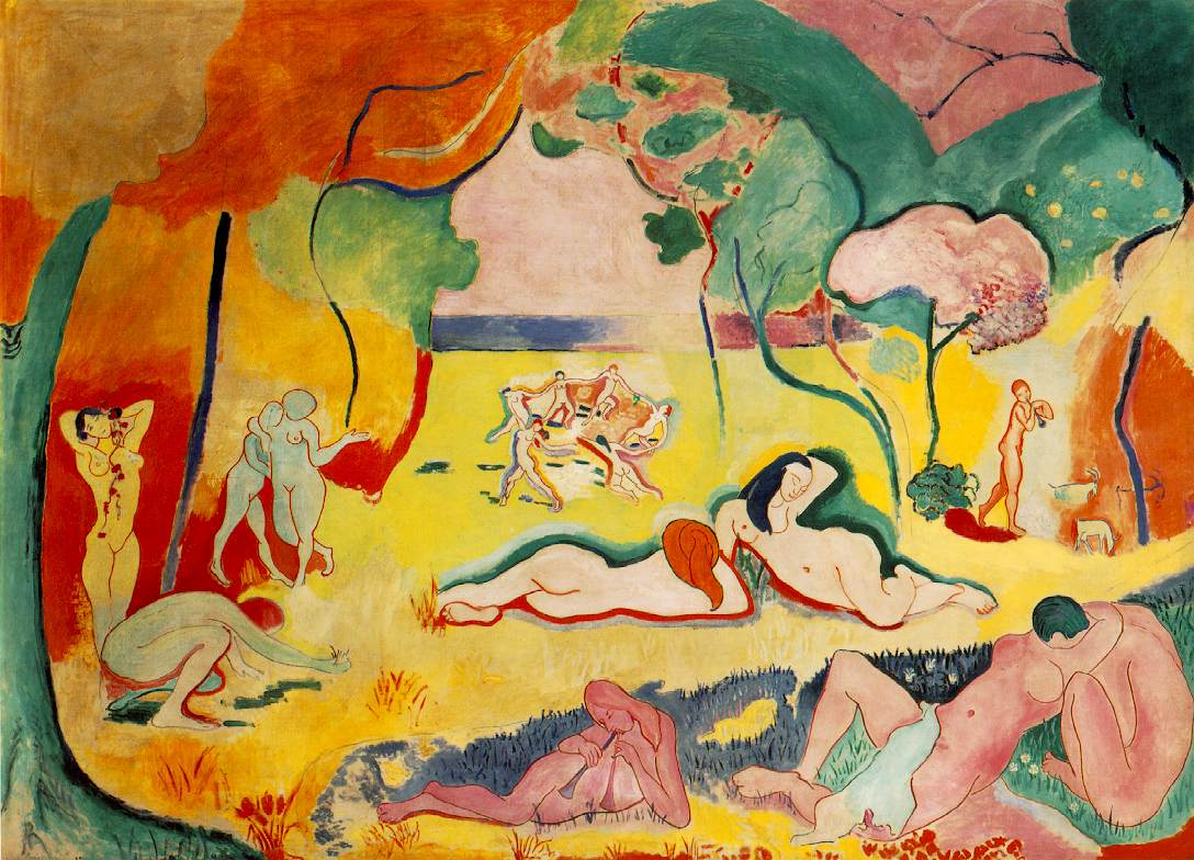 Henri Matisse - The Joy of Life 1906