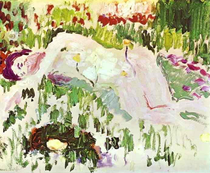 Henri Matisse - The Lying Nude 1906