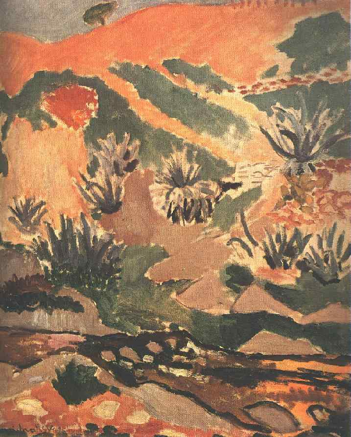 Henri Matisse - Landscape with Brook. Brook with Aloes 1907