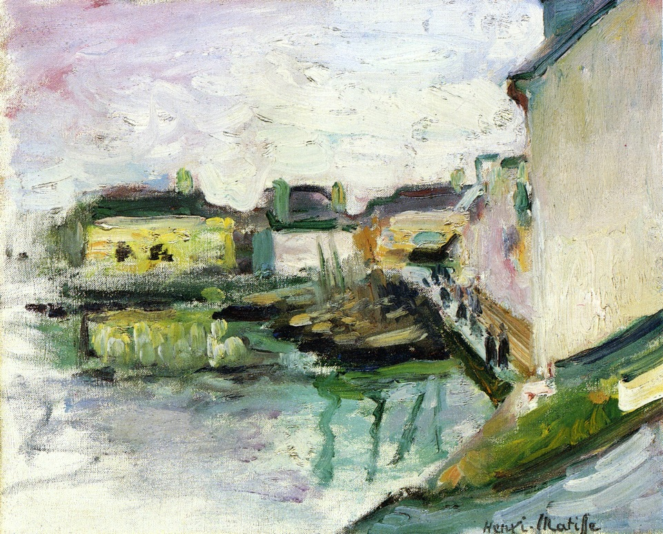 Henri Matisse - The Port of Palais, Belle Ile 1896