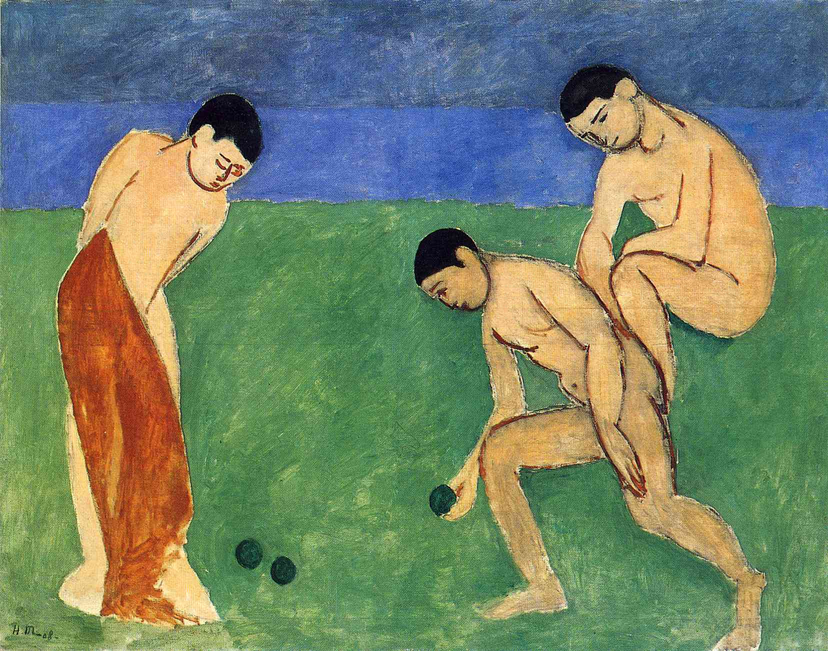 Henri Matisse - Game of Bowls 1908