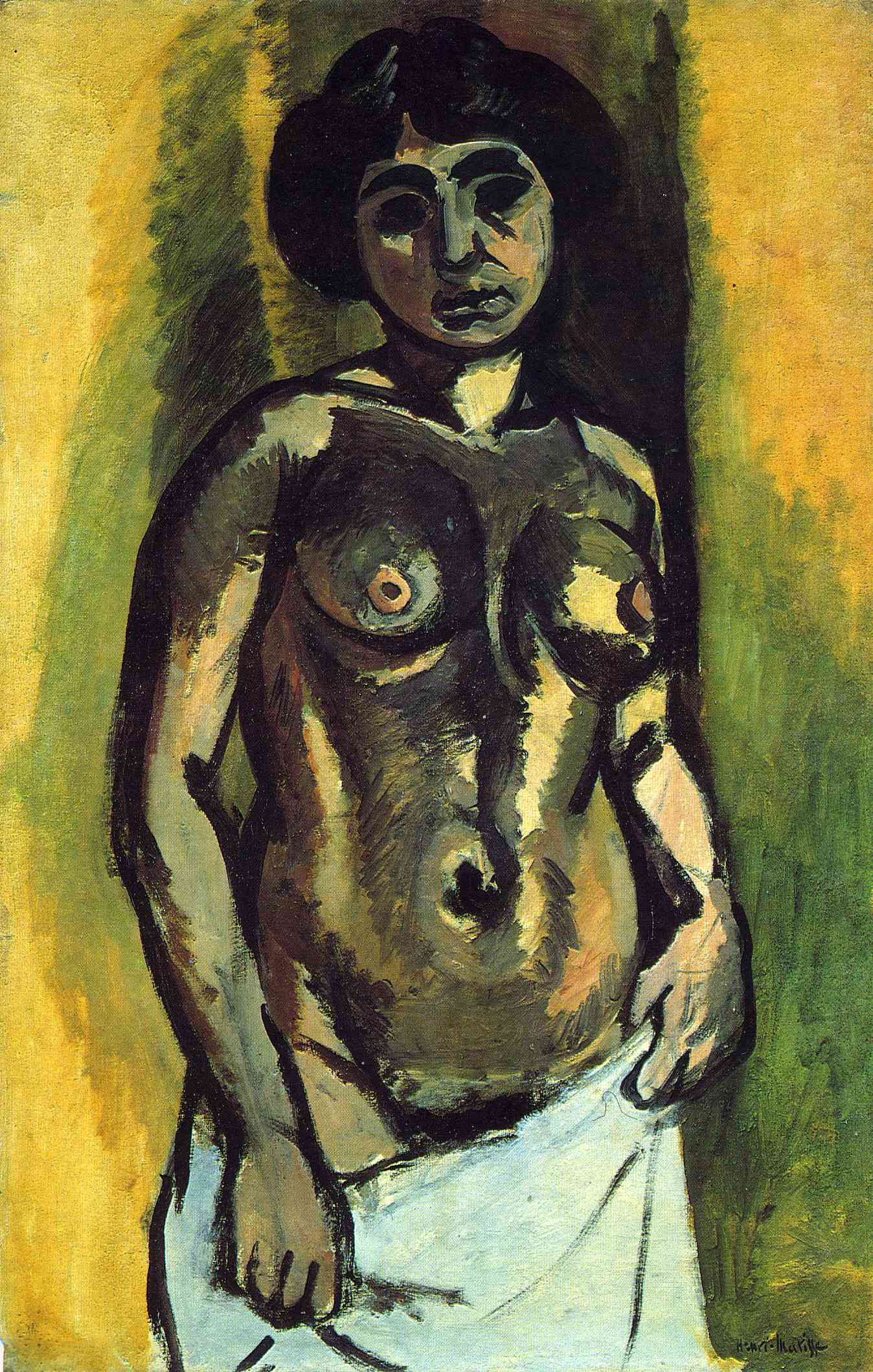 Henri Matisse - Nude. Black and Gold 1908
