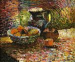 Still Life with Pitcher and Fruit 1898