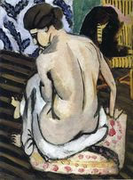 Nude's Back 1918
