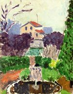 The Artist's Garden at Issy les Moulineaux 1918